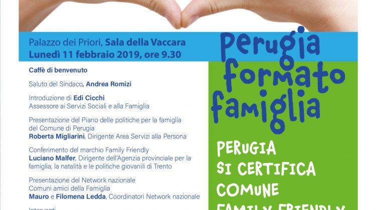 perugia family friendly